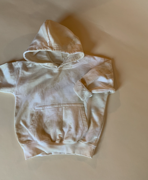 Sand, Hand-dyed Hoody [Age 3]