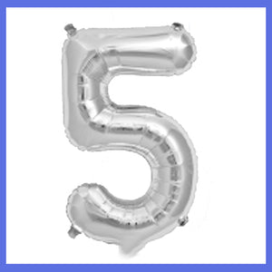 "16"" Small Number 5 Foil Balloon"