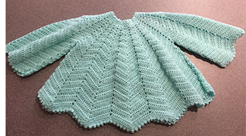 Hand Crocheted Angel Baby Dress