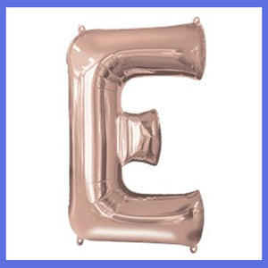 Rose Gold Balloon Letters Small