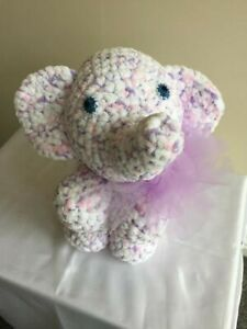 Violet Rose Medium Elephant