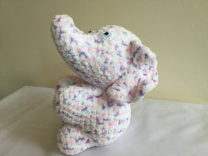 Violet Rose Mini Elephant