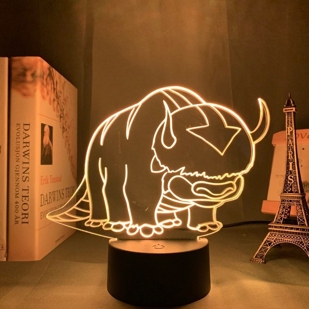 Appa The Flying Bison Lamp