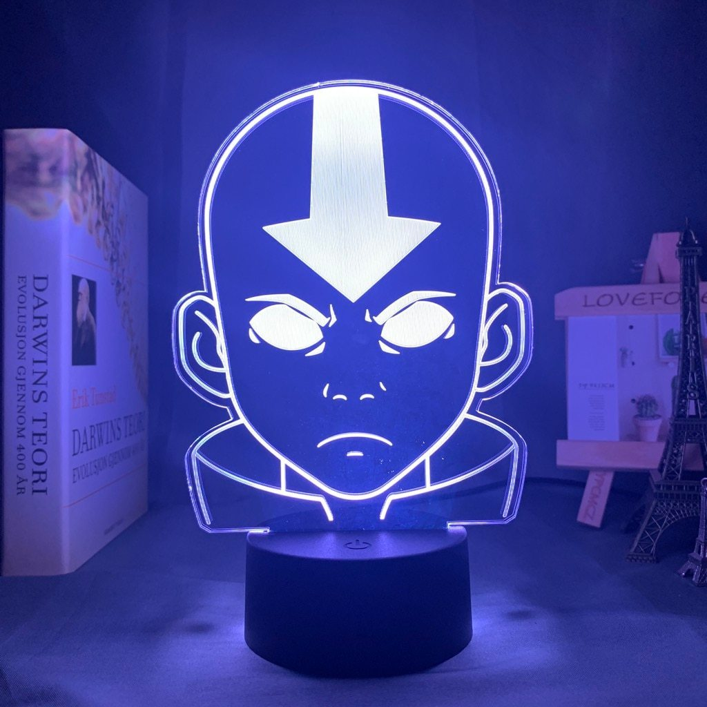 Avatar Aang Lamp