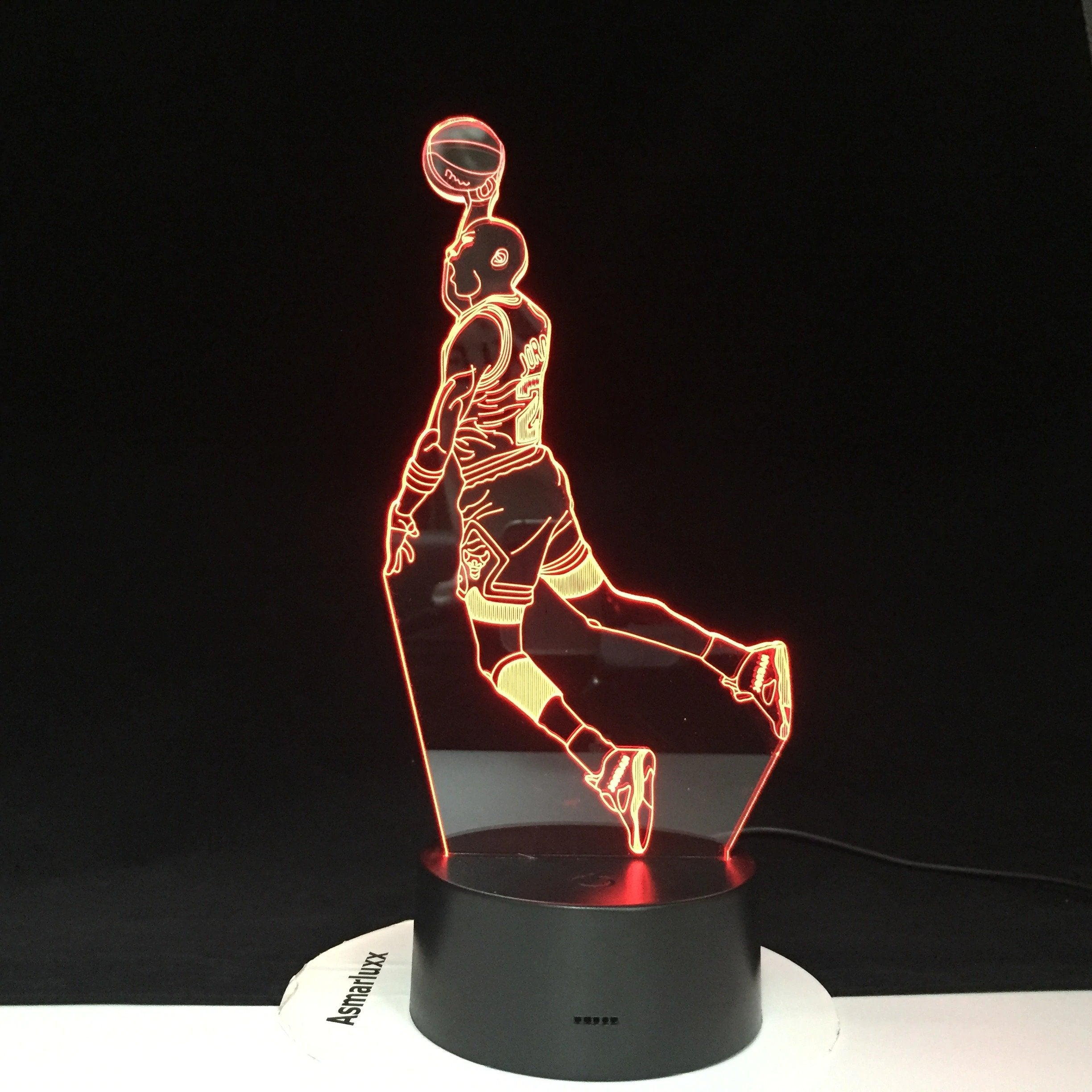 The G.O.A.T Michael Jordan Lamp