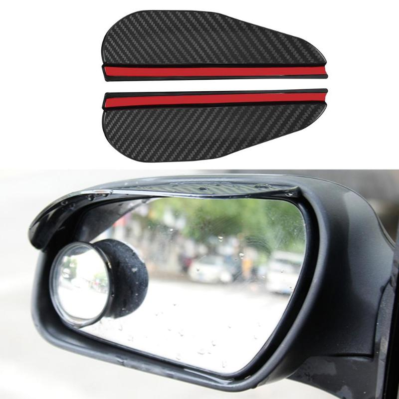 2pcs Car Side Mirror Rain & Snow Eyebrow