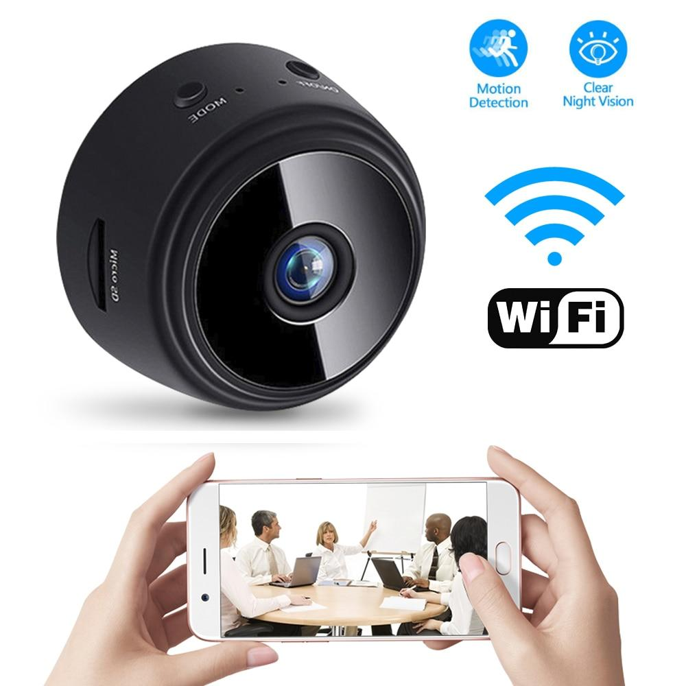 Wireless Wifi Camera With Sensor Night Vision ( 1080P )