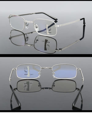 Progressive Far And Near Dual-Use Auto Focus Reading Glasses