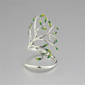 925 Sterling Silver Energy Style VII Ring