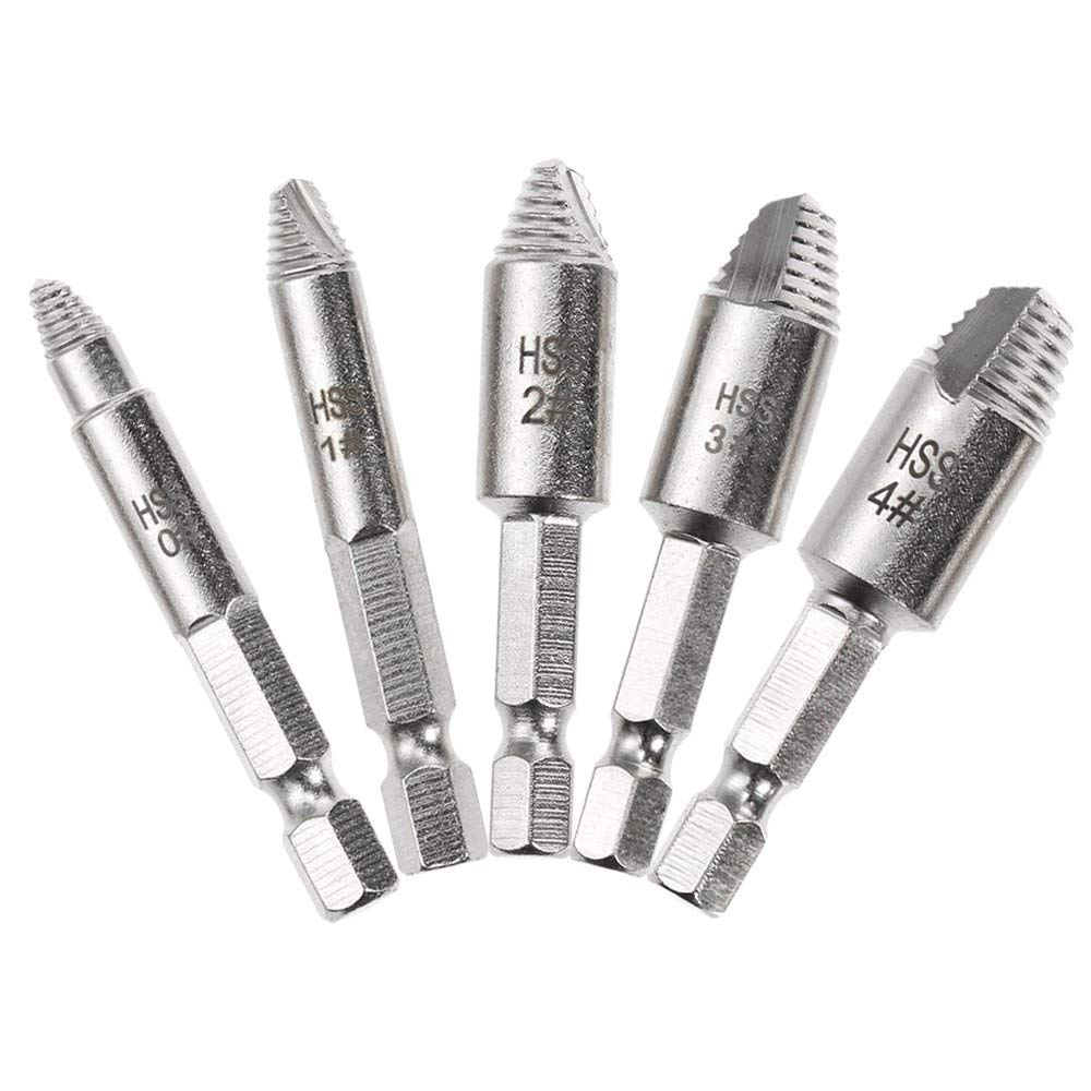 Zezzo Biservice Mintml Damaged Screw Extractor Remover Set