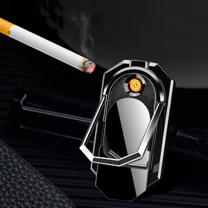 Wix Lit - Mobile Phone Rechargeable Windproof USB Electric Lighter