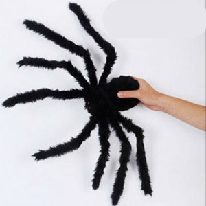 Black Giant Spider For Halloween
