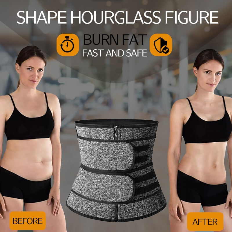 Body Shaper Workout Fitness Solid Glow Up Waist Trainer Corset