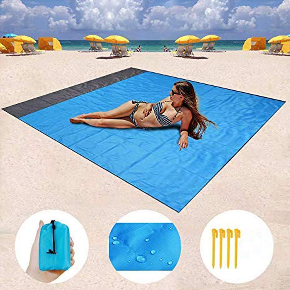 Sand Free and Waterproof Beach Mat