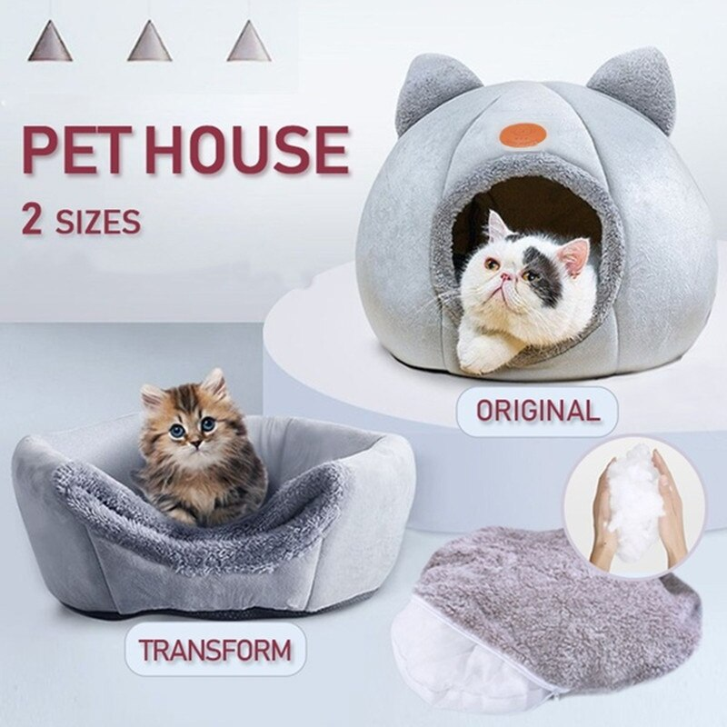 Soothing Cat Bed