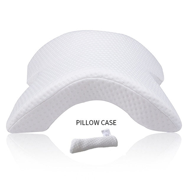 CouplesPillow Ergonomic Couples Sleeping Pillow