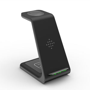 Ramax 3 In 1 Wireless Charger Dock - All-In-One Charger