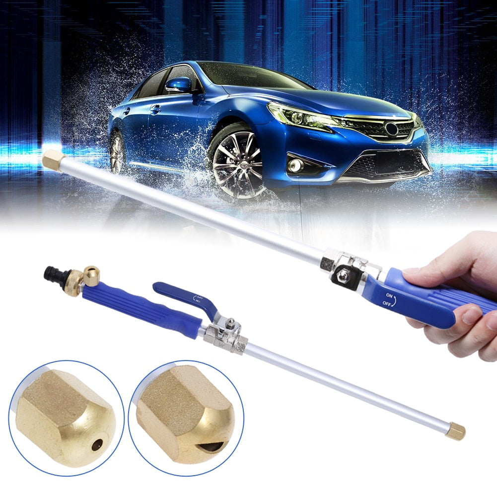 HydroJet 2 In 1 Portable High Pressure Power Washer Water Nozzle Wand