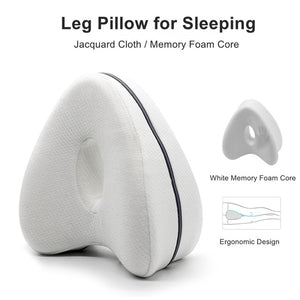 SmoothSpine Improved Leg Orthopedic Knee Pillow For Quality Sleep