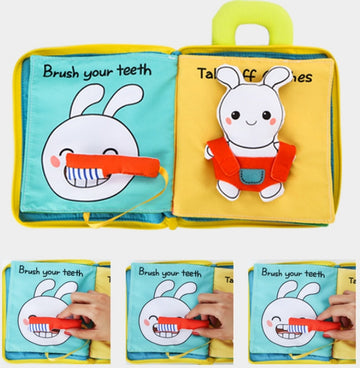 Family Early Education 3D Cloth Book