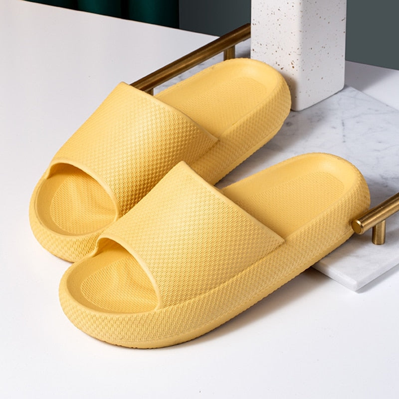 Universal Comfortable Non-Slip Super Soft Quick-Drying Home Slippers Sandals - Pillow Slides