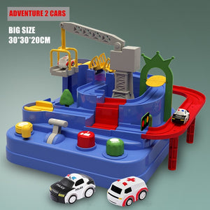 Children Gift Puzzle Rail Car