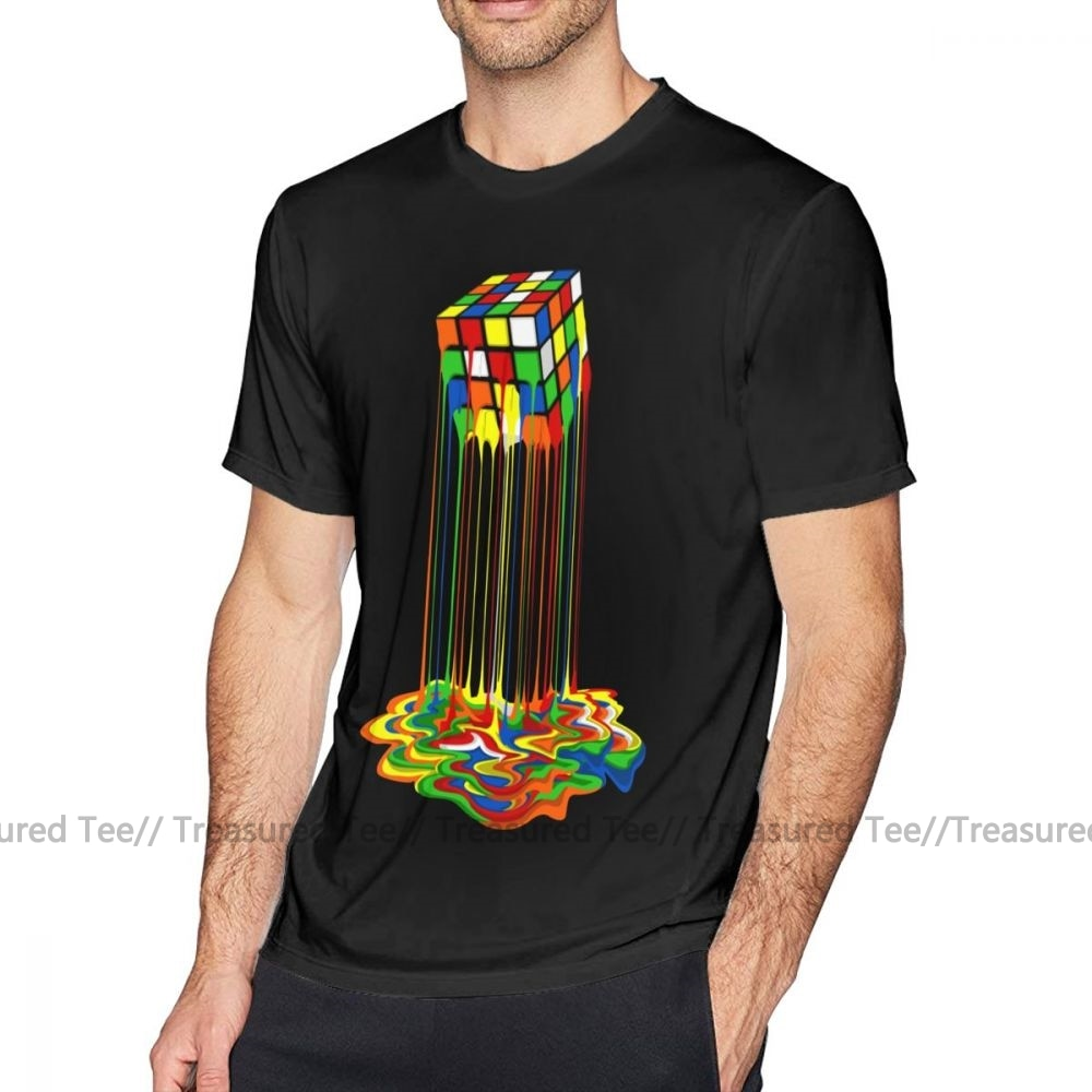 Rubiks Cube Dripping 2 T-shirt