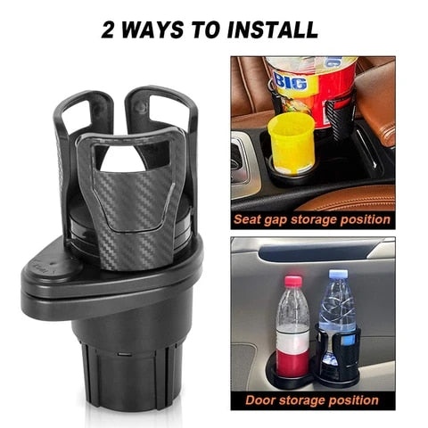 Multifunctional Car Holder - Vehicle-mounted Water Cup Drink Holder