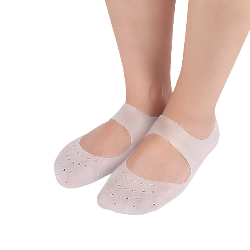 Anti-Dry And Anti-Cracking Silicone Foot Socks