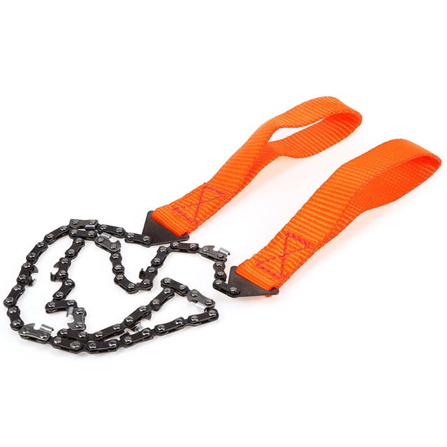 Camping Hunting Emergency Survival Hand Tool - Pocket Chainsaw