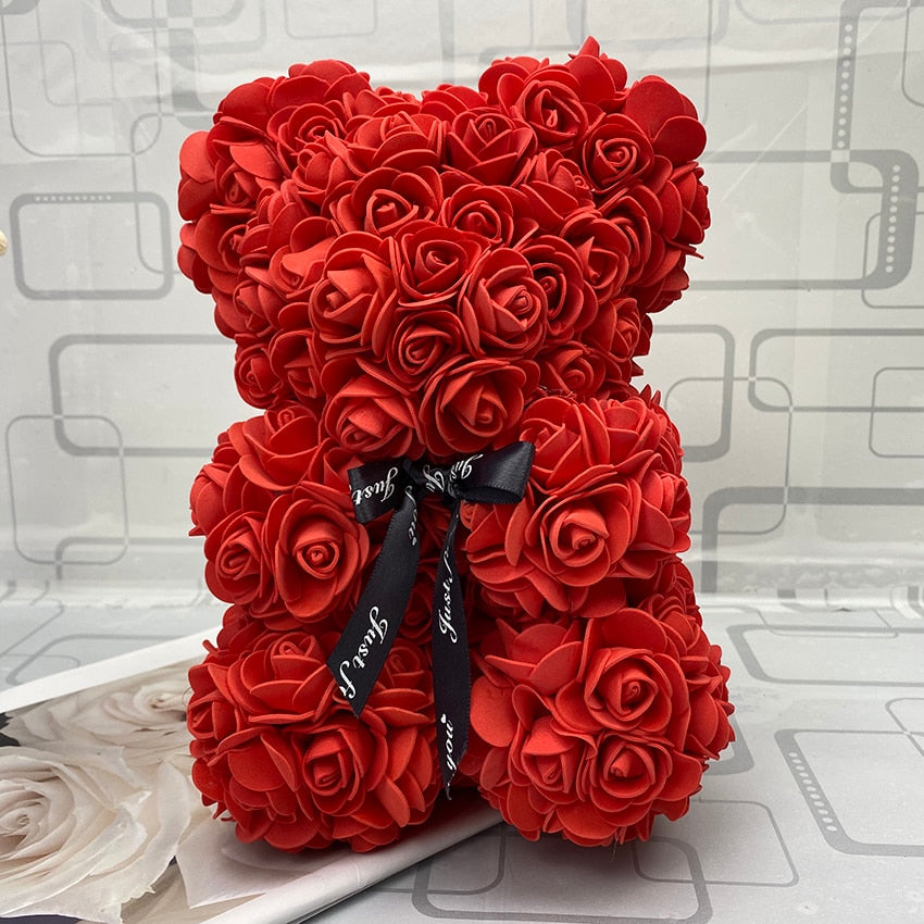 Valentine The Luxury Luxe Rose Teddy Bear