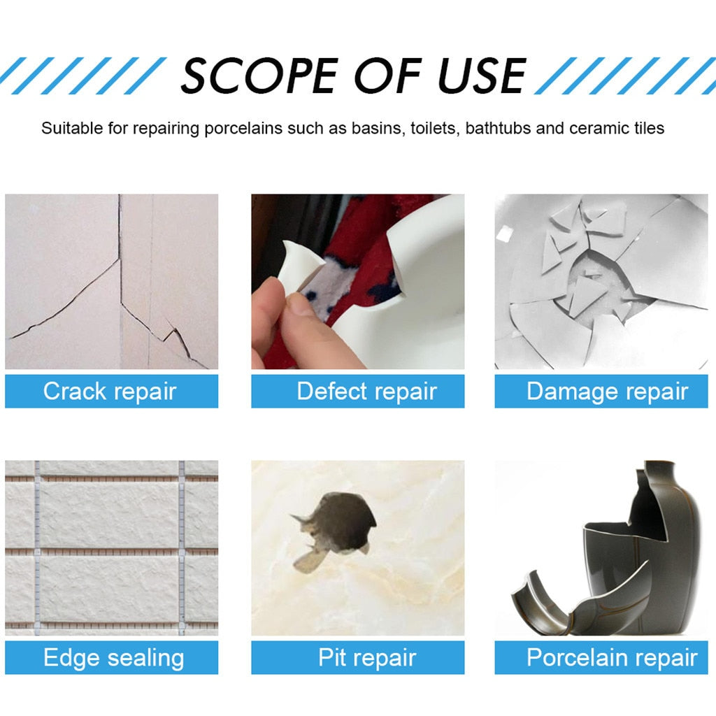 2 pcs Tile Repair Paste