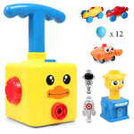 Balloon Pump Car Toy Inertial