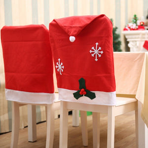 Stretchable Christmas Chair Covers