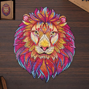 WoodenPuzzle Jigsaw Fox-Owl-Lion-Fish Animal Puzzle - The Most Beautiful and Creative Puzzle Ever