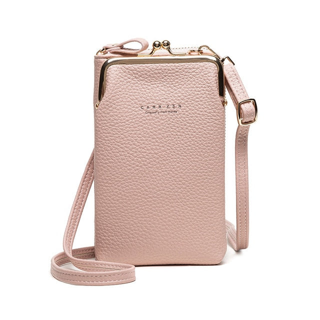 Tendaisy Soliz Bag- Women Mini Phone Bag Solid Crossbody Bag