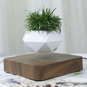 Levi Planter- Geometric Magnetic Levitating Flower Pot