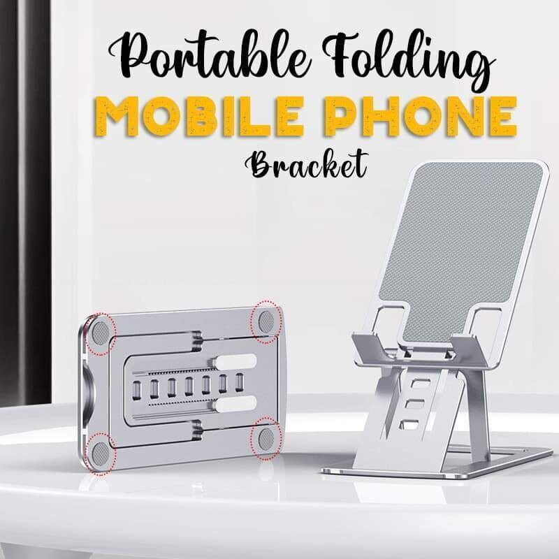 Portable Folding Mobile Phone Bracket