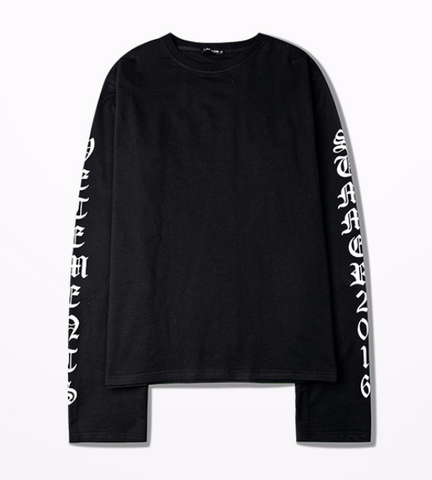 Summer 16 Extended Long Sleeve Tee