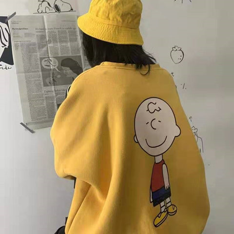 Charlie Brown Oversized Sweater