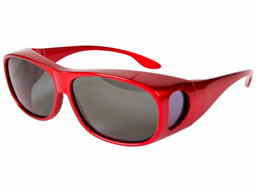 Sports Red Overglasses