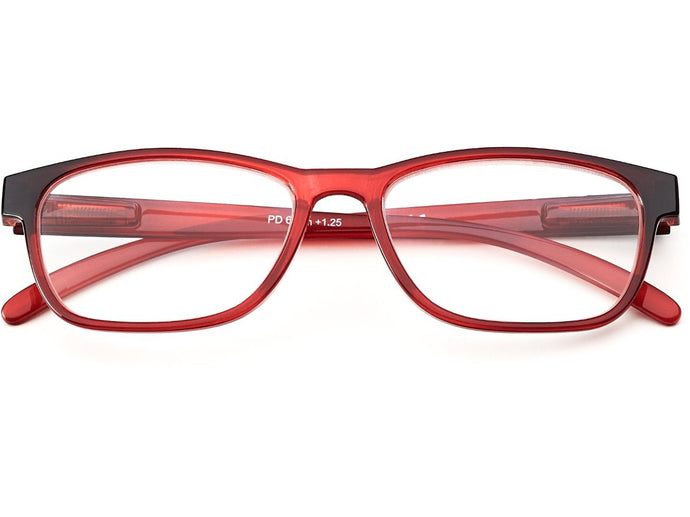 Andorra Red Reading Glasses
