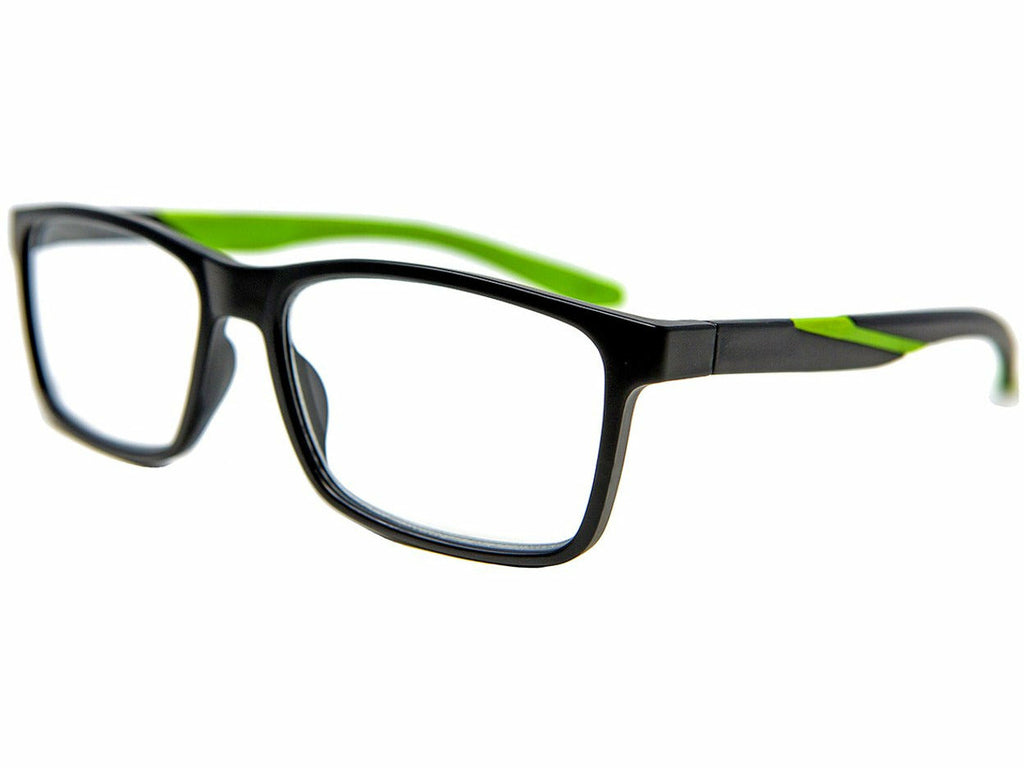 Darwin Lime Reading Glasses