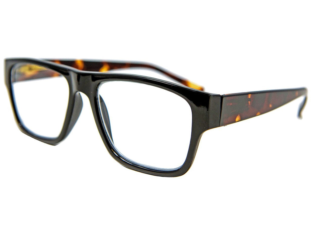 Lomond Black Black Reading Glasses