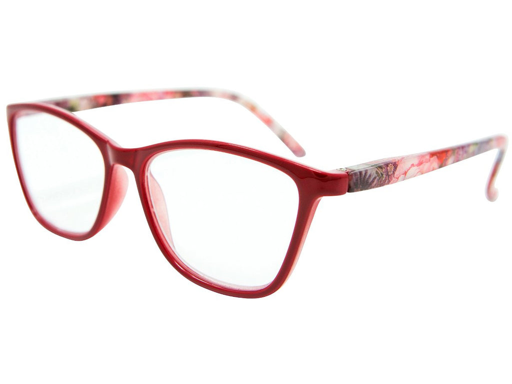 Salento Red Reading Glasses