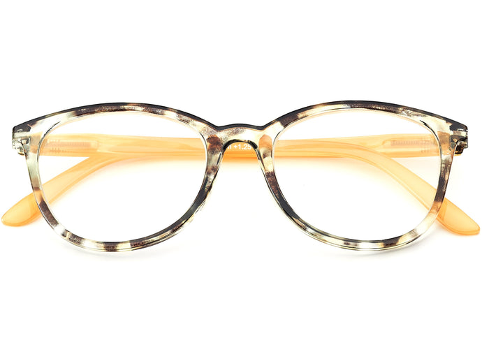 Soho Ochre Reading Glasses