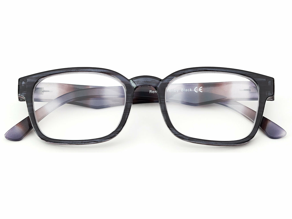 Tenby Black Reading Glasses