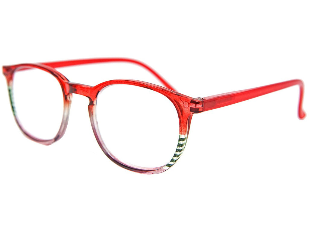 Whitby Red Reading Glasses