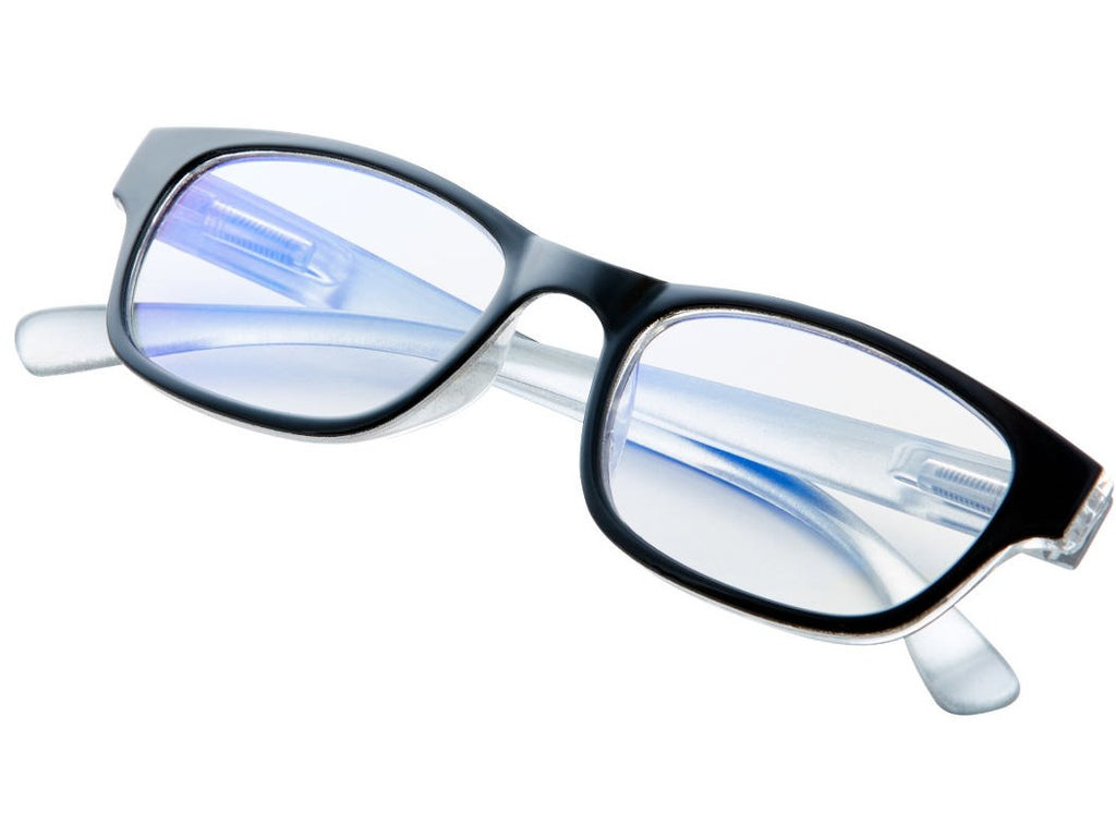 BlueVue Black Screen Glasses