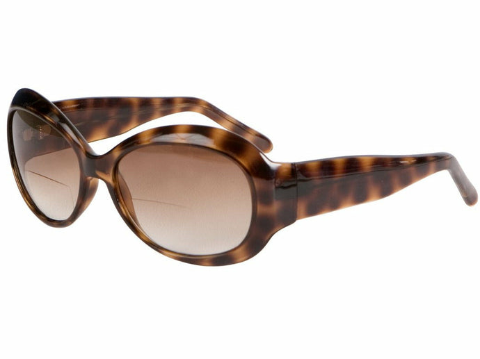 Naples Tortoise Sun Reading Glasses Bifocal